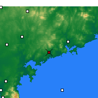 Nearby Forecast Locations - Haiyang - Χάρτης