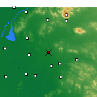 Nearby Forecast Locations - Ningyang - Χάρτης
