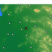 Nearby Forecast Locations - Qufu - Χάρτης