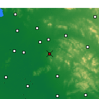 Nearby Forecast Locations - Zoucheng - Χάρτης