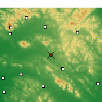 Nearby Forecast Locations - Xintai - Χάρτης