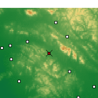 Nearby Forecast Locations - Pingyi - Χάρτης