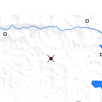 Nearby Forecast Locations - Gyantse - Χάρτης