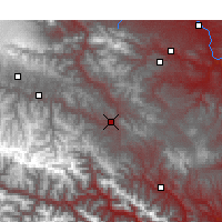 Nearby Forecast Locations - Min - Χάρτης