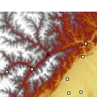 Nearby Forecast Locations - Mao Xian - Χάρτης