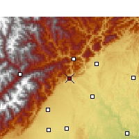 Nearby Forecast Locations - An Xian - Χάρτης