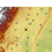 Nearby Forecast Locations - Xinjin - Χάρτης