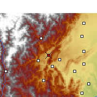 Nearby Forecast Locations - Lushan/SCH - Χάρτης