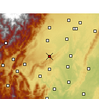 Nearby Forecast Locations - Pujiang/SCH - Χάρτης