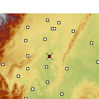 Nearby Forecast Locations - Pengshan - Χάρτης