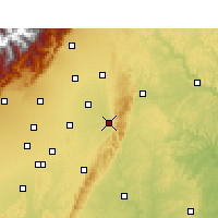 Nearby Forecast Locations - Jintang - Χάρτης