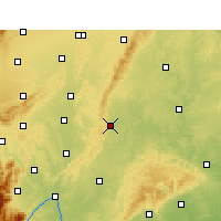 Nearby Forecast Locations - Renshou - Χάρτης