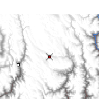 Nearby Forecast Locations - Daocheng - Χάρτης