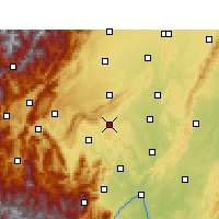 Nearby Forecast Locations - Danling - Χάρτης