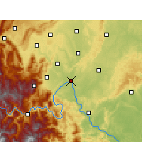Nearby Forecast Locations - Leshan - Χάρτης