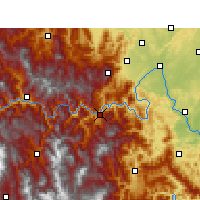 Nearby Forecast Locations - Ebian - Χάρτης