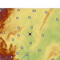 Nearby Forecast Locations - Meishan - Χάρτης