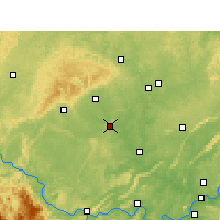 Nearby Forecast Locations - Zigong - Χάρτης