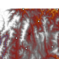 Nearby Forecast Locations - Yuexi - Χάρτης