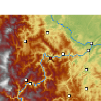 Nearby Forecast Locations - Suijiang - Χάρτης