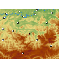 Nearby Forecast Locations - Xingwen - Χάρτης