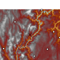Nearby Forecast Locations - Jinyang - Χάρτης
