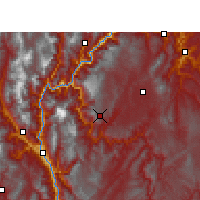 Nearby Forecast Locations - Ludian - Χάρτης