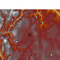 Nearby Forecast Locations - Zhaotong - Χάρτης