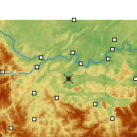 Nearby Forecast Locations - Changning - Χάρτης