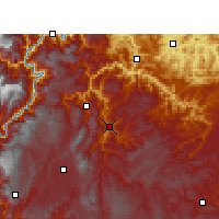 Nearby Forecast Locations - Yiliang/YNN - Χάρτης