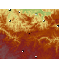 Nearby Forecast Locations - Weixin - Χάρτης