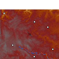 Nearby Forecast Locations - Hezhang - Χάρτης
