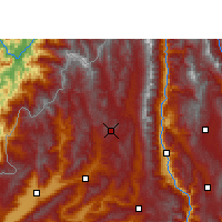 Nearby Forecast Locations - Tengchong - Χάρτης