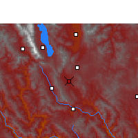 Nearby Forecast Locations - Midu - Χάρτης
