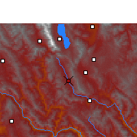 Nearby Forecast Locations - Weishan - Χάρτης