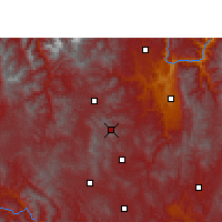 Nearby Forecast Locations - Yao'an - Χάρτης