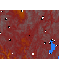Nearby Forecast Locations - Lufeng/YNN - Χάρτης
