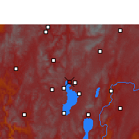 Nearby Forecast Locations - Kunming - Χάρτης