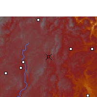 Nearby Forecast Locations - Fuyuan - Χάρτης