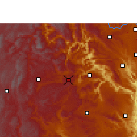 Nearby Forecast Locations - Puan - Χάρτης