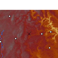 Nearby Forecast Locations - Pan Xian - Χάρτης