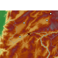 Nearby Forecast Locations - Wantingzhen - Χάρτης