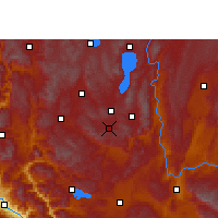 Nearby Forecast Locations - Tonghai - Χάρτης