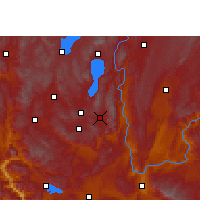 Nearby Forecast Locations - Huaning - Χάρτης