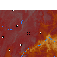 Nearby Forecast Locations - Shizong - Χάρτης