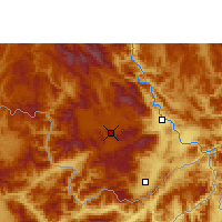Nearby Forecast Locations - Menghai - Χάρτης