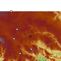 Nearby Forecast Locations - Xichou - Χάρτης
