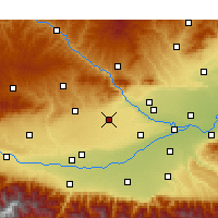 Nearby Forecast Locations - Liquan - Χάρτης