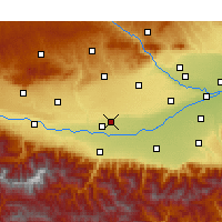 Nearby Forecast Locations - Xingping - Χάρτης
