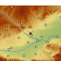 Nearby Forecast Locations - Sanyuan - Χάρτης